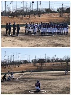 3月11日 練習試合 愛知尾州ボーイズさん